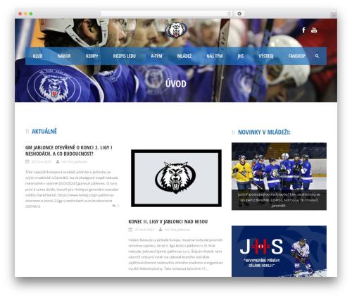 Best WordPress theme Real Soccer - hcvlci.cz