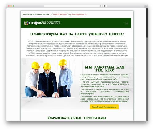 Betheme WordPress theme - profobrazovanie34.ru