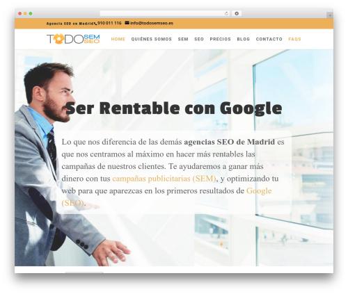 Divi WordPress theme - todosemseo.es