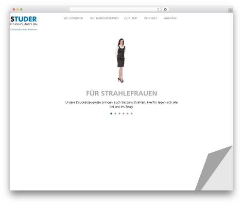 Gantry Theme for WordPress WordPress theme - studerdruck.ch