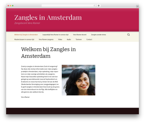 Twenty Thirteen free WordPress theme - zanglesinamsterdam.nl