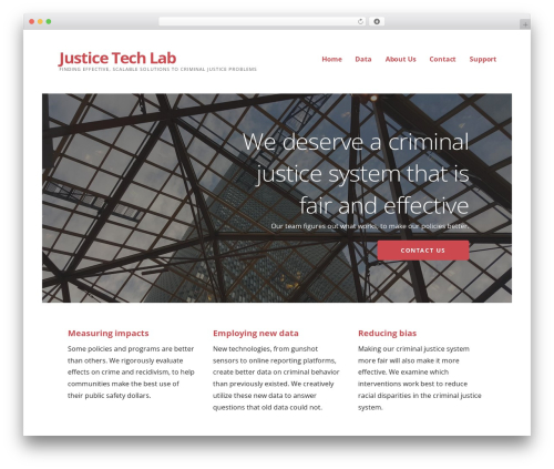 Theme WordPress Ascension - justicetechlab.org