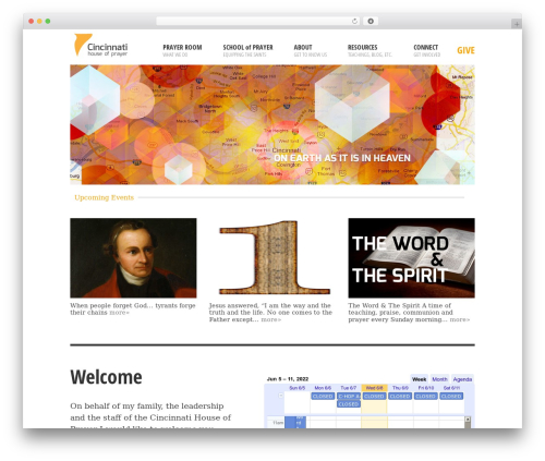 WordPress theme BLANK Theme - c-hop.org