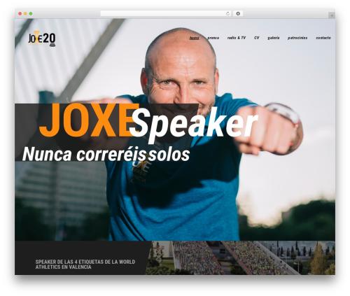 WP template Redy - speakervalencia.es