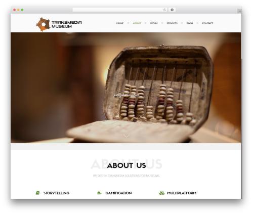 Ananke Theme WordPress theme - transmediamuseum.com