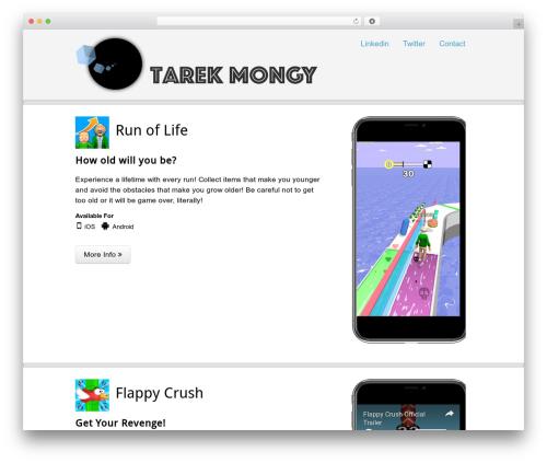 AppifyWP Pro WordPress gaming theme - tarekmongy.com