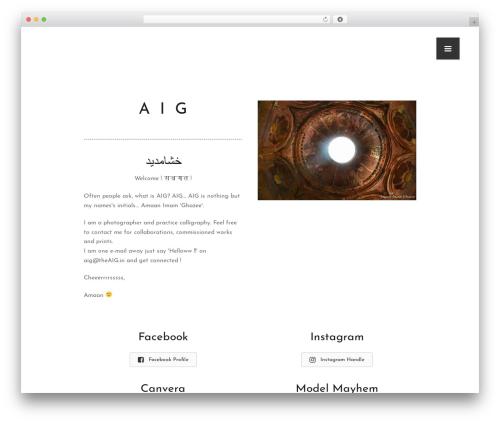 Free WordPress Contact Widgets plugin - theaig.in