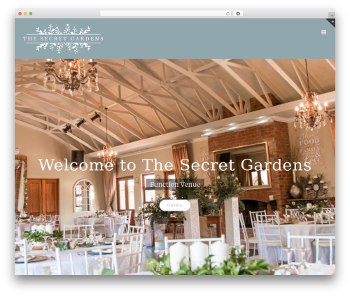 Avada garden WordPress theme - thesecretgardens.co.za