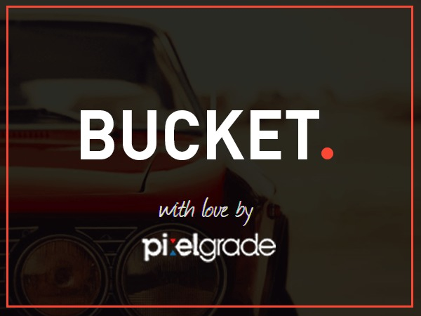 Bucket WordPress news template