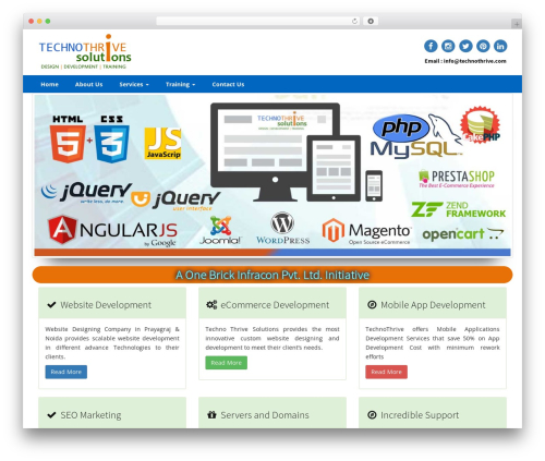 Compose WP WordPress template - technothrive.com