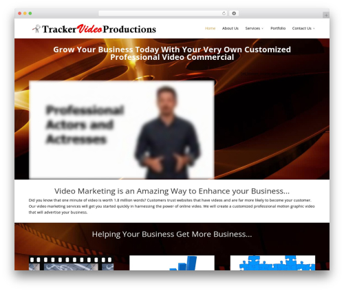 WordPress gallery-video plugin - trackervideoproductions.com