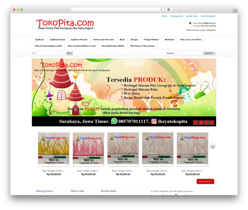 Emporium best WordPress theme - tokopita.com