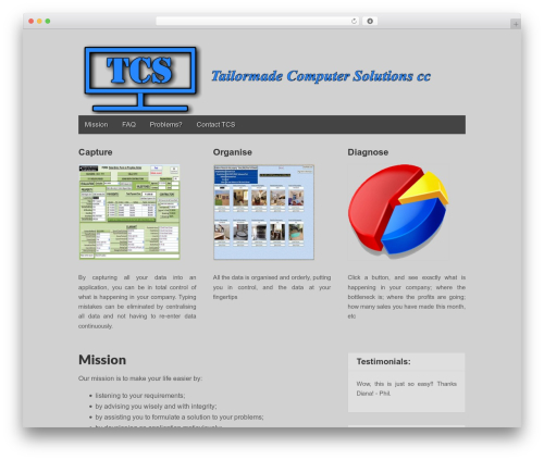 Gridiculous template WordPress free - tailormadecomputersolutions.co.za
