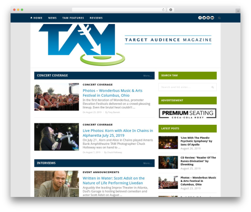 Hickory theme WordPress - tamagazine.com