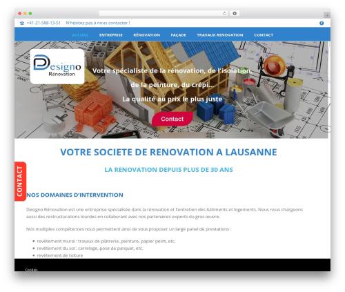 Jupiter theme WordPress - travauxrenovation.ch