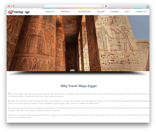 Free WordPress Colorful text widget plugin - travelways-egypt.com