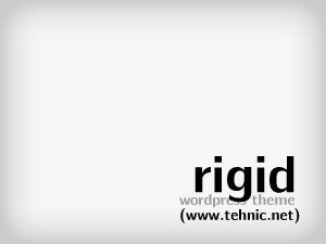 Rigid premium WordPress theme