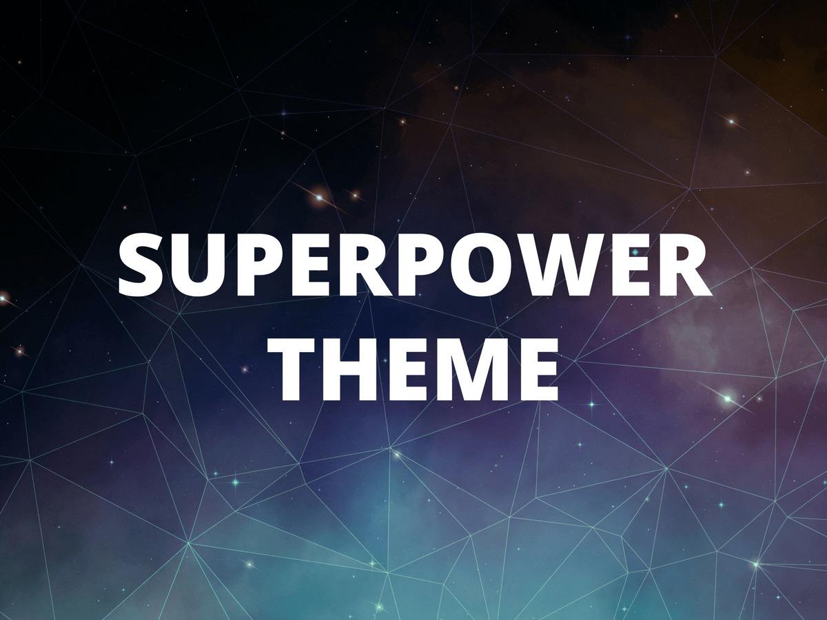 Superpower WordPress website template
