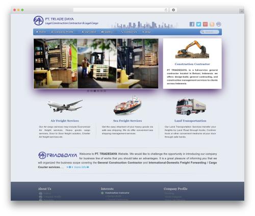 WordPress theme Gantry Theme for WordPress - triadedaya.com