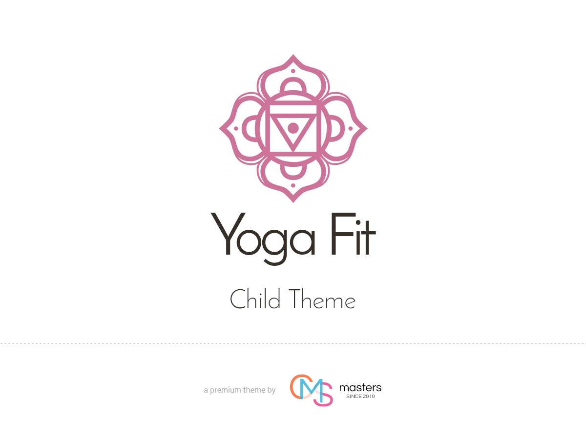 Yoga Fit Child WordPress theme