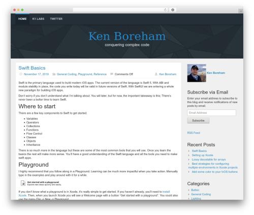 Best WordPress template Lana Site - kenb.us