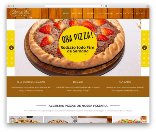 Green-Lantern-Premium WordPress pizza theme - sabordosulpizzaria.com.br
