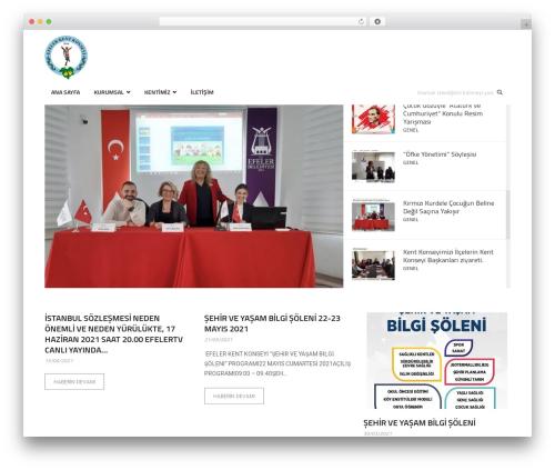 Higher Place WordPress page template - efelerkentkonseyi.org