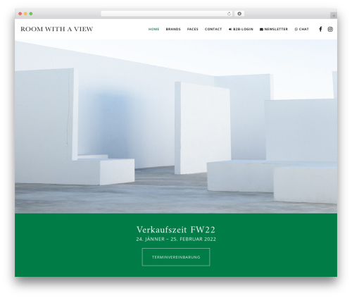 Movedo theme WordPress - roomwithaview.at