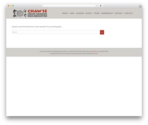 Theme WordPress Peak - chawse.org