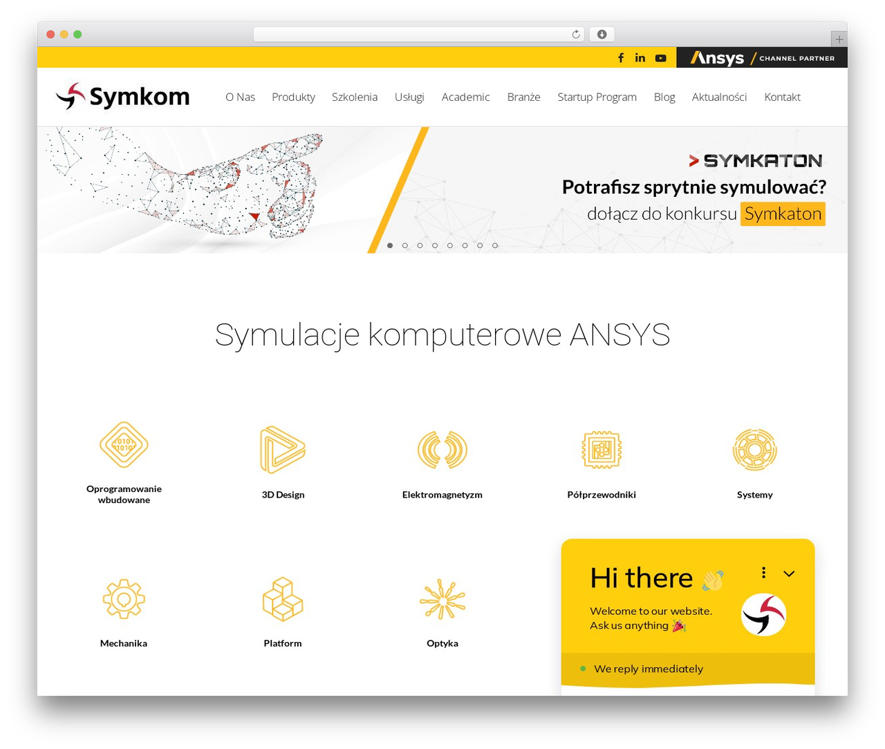 Theme WordPress Skylar - symkom.pl