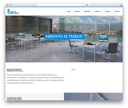 Total free WP theme - solucionesenfrio.net
