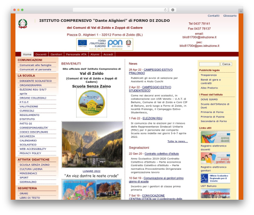 WordPress template pasw2013 - zoldoscuola.eu