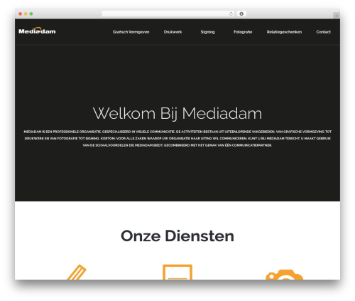 WordPress template rosetta - mediadam.nl