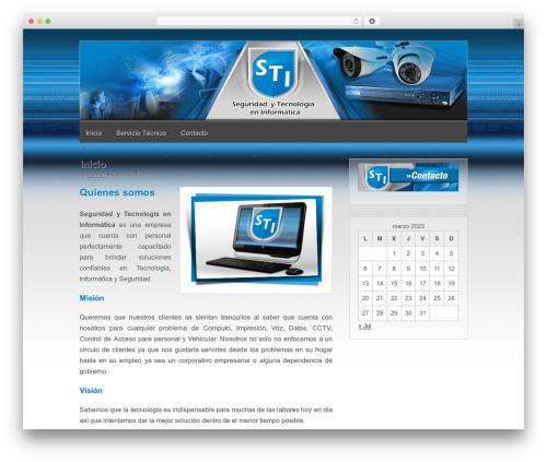 WordPress theme Gridiculous - teamsti.net
