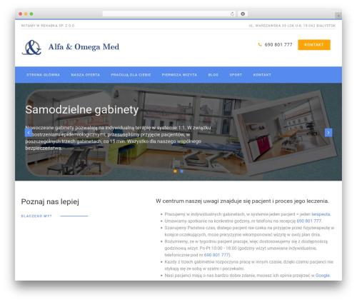 WordPress theme PhysioPlus - rehabka.pl