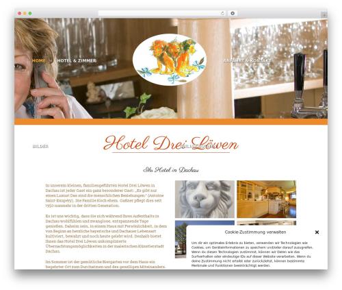 Basisframework best hotel WordPress theme - dreiloewen.de
