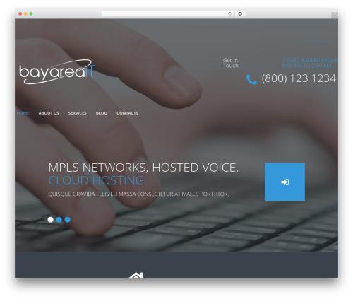 cherry top WordPress theme - bayareait.support