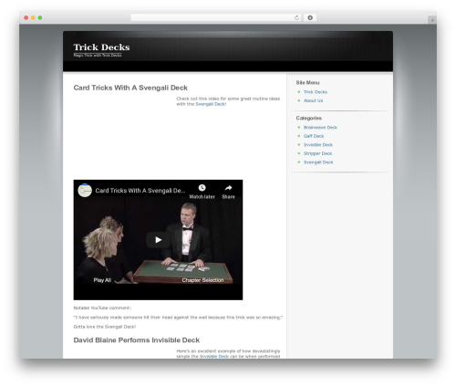 ClickBump WordPress template - trickdecks.net