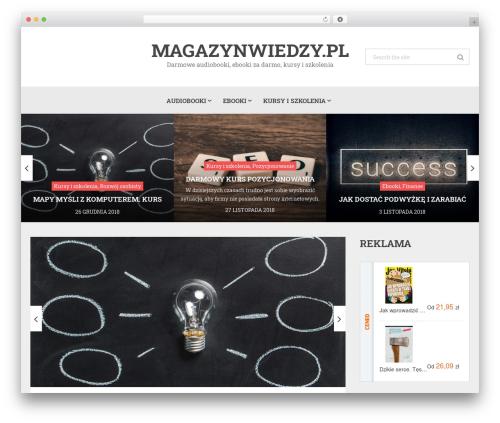 Magazine by MyThemeShop WordPress news theme - magazynwiedzy.pl