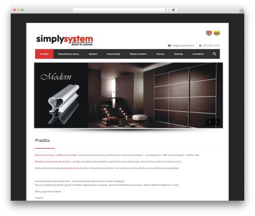 Theme WordPress Centum WP (shared on themelock.com) - simplysystem.lt