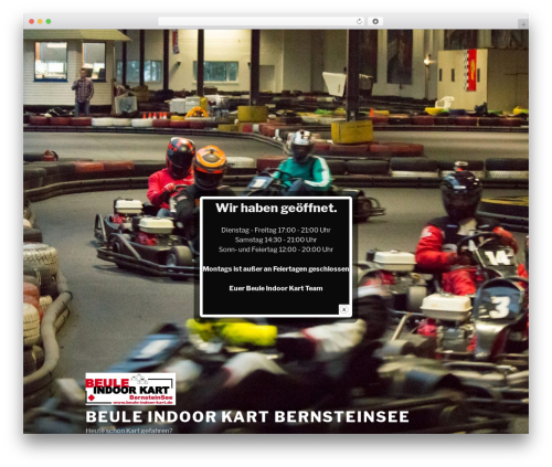 Twenty Seventeen free WordPress theme - beule-indoor-kart.de