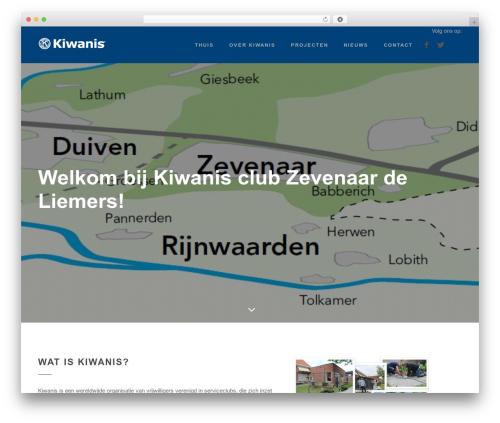 WordPress theme Peak - kiwanisclubdeliemers.nl