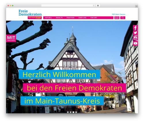 WP template FDP - fdp-mtk.de