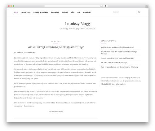Activello theme WordPress free - lotniczy.eu