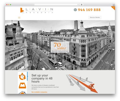 Betheme top WordPress theme - lavin.net