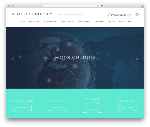 Cherry Framework WordPress theme - kenttechnology.co.in