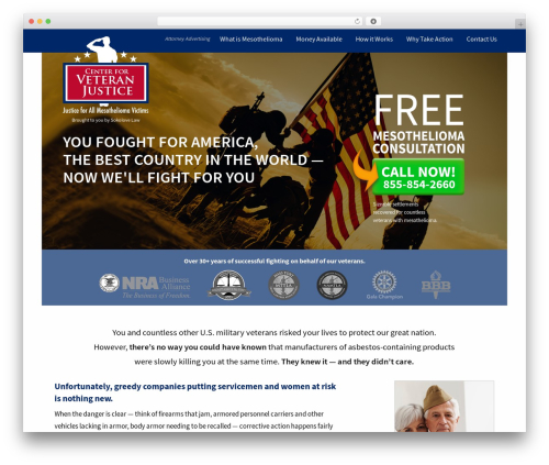 JointsWP - Sass WordPress theme - centerforveteranjustice.org