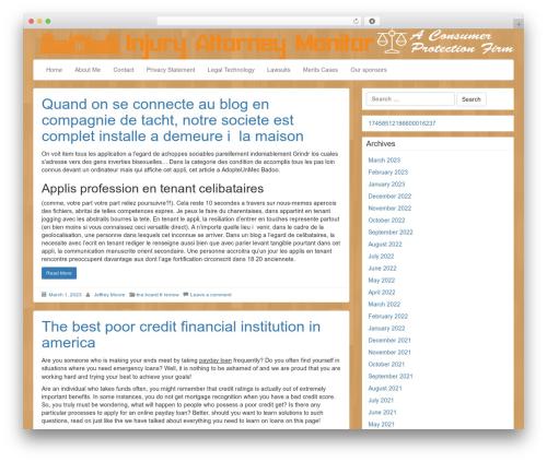 LineDay WordPress template free download - injuryattorneymonitor.net