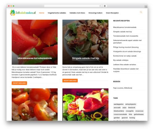 PassionBlogger WP theme - zelfsalademaken.nl
