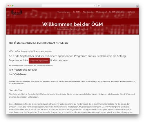 Pinnacle WordPress theme free download - oegm.org